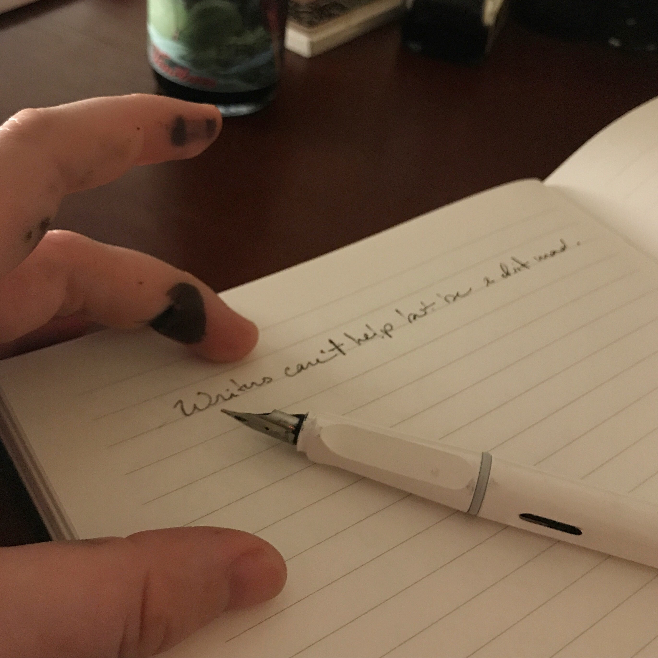 On Not Writing and Beyond